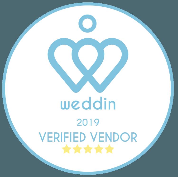 Weddin verified vendor